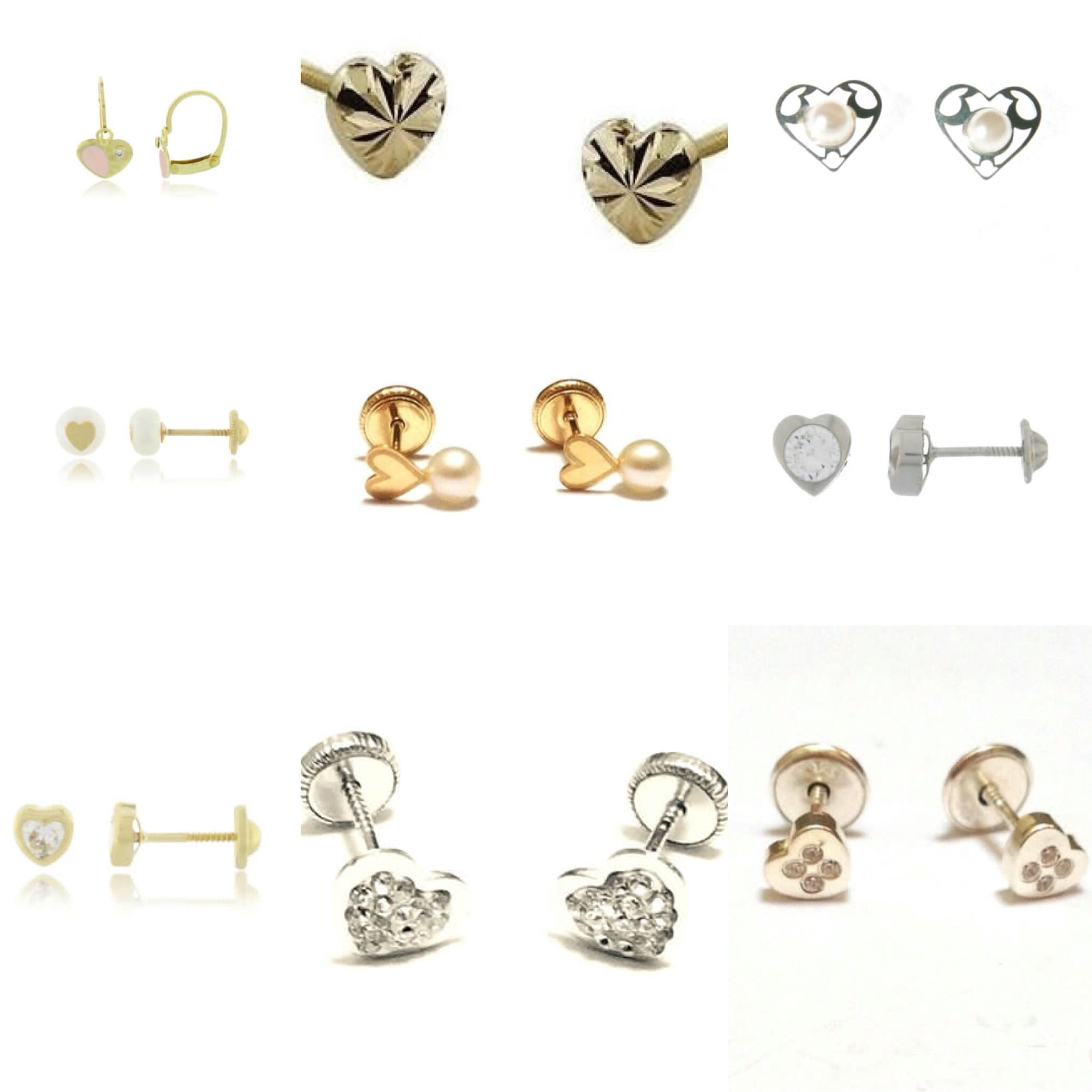 My Heart Is Aflutter With These Child Safe Earrings For Kids 18kgold Safetybackearrings Ptparoved