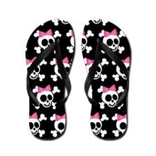 ce64b65c019f7e Cute Skull Flip Flops on CafePress.com. Flip Flop SandalsShoes ...