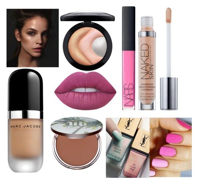 """""""Fresh"""" by aaansm on Polyvore featuring beauty, Marc Jacobs, MAC Cosmetics, Urban Decay, NARS Cosmetics and Lime Crime"""