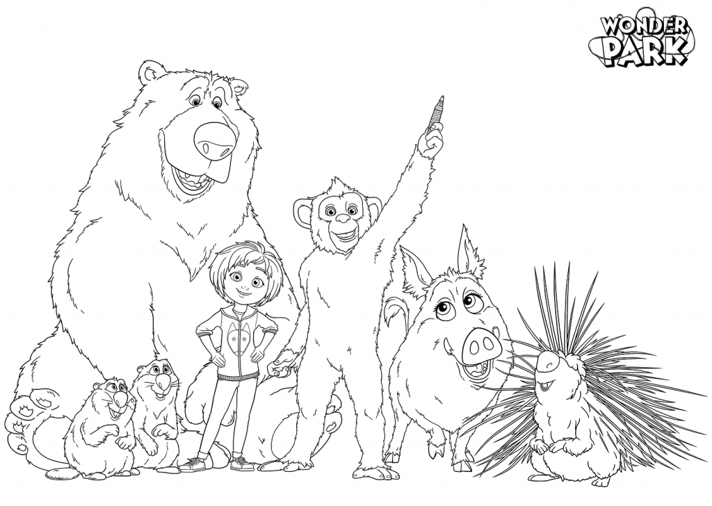 Wonder Park Coloring Pages | Movies and TV Show Coloring ...