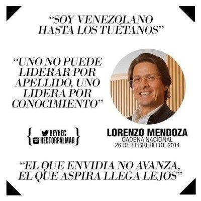 Soy Venezolano hasta los tuétanos.