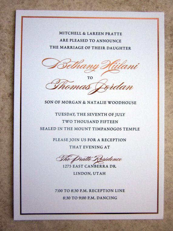 Indian Wedding Invitation / Gold Foil / Indian Fusion / Mandala ...