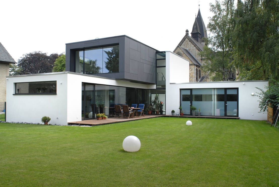 Raffiniertes Einfamilienhaus mit Klasse | Moderne häuser ...