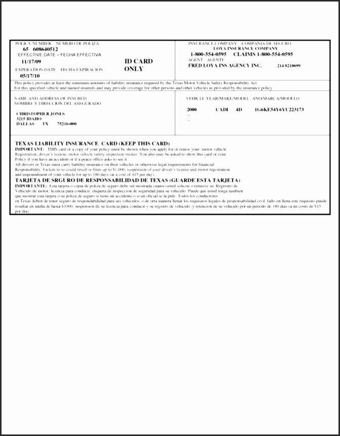 Print Free Fake Insurance Cards Gkk7i Fresh Insurance ...