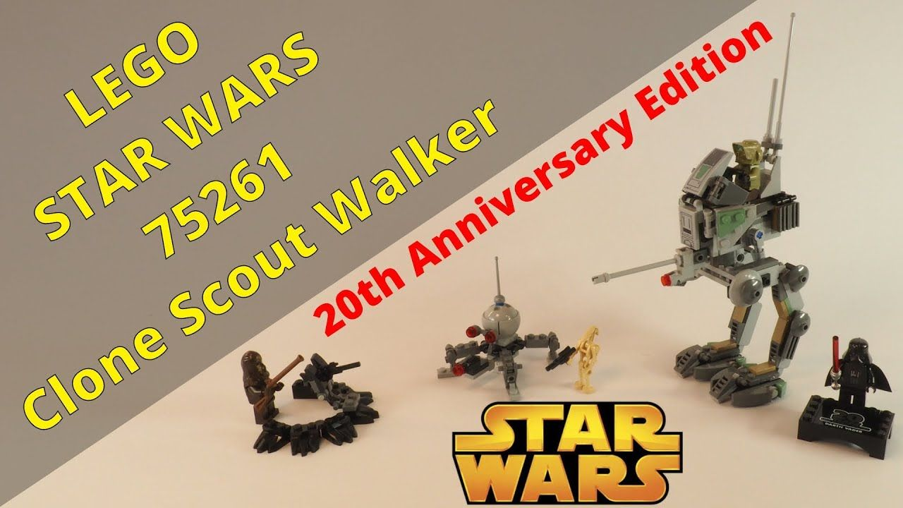 Lego Star Wars 75261 Clone Scout Walker 20th Anniversary Edition Set