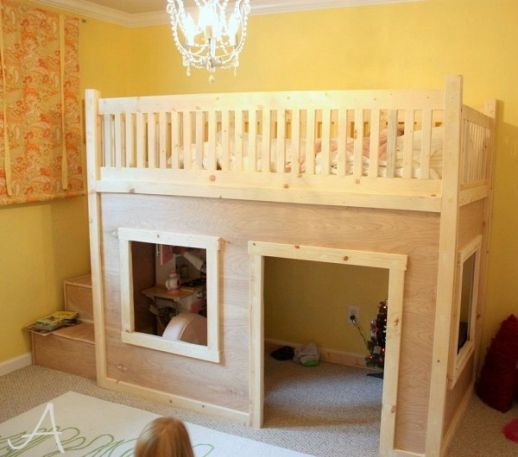 Stair Design Budget And Important Things To Consider: A Princess Bedroom With A Loft Bed