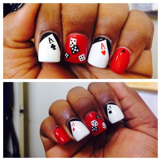 Las Vegas Nail Art | nails | Pinterest | Las vegas nails, Vegas ...