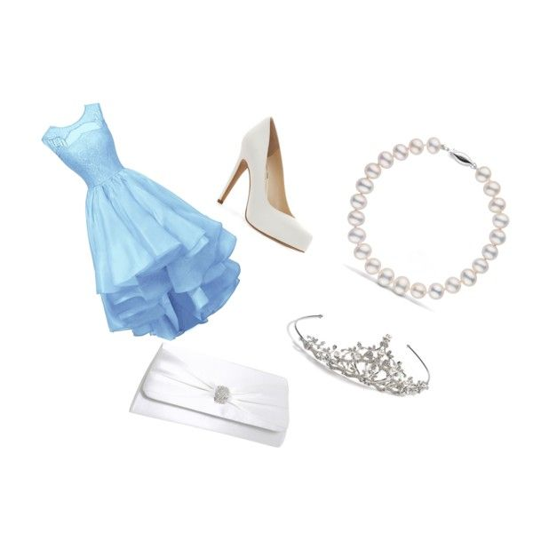 prom!!! by daphne-perdon on Polyvore featuring mode, Jessica Simpson, Touch Ups and Nina