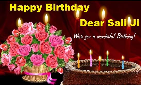 Happy Birthday Wishes For Sali Online