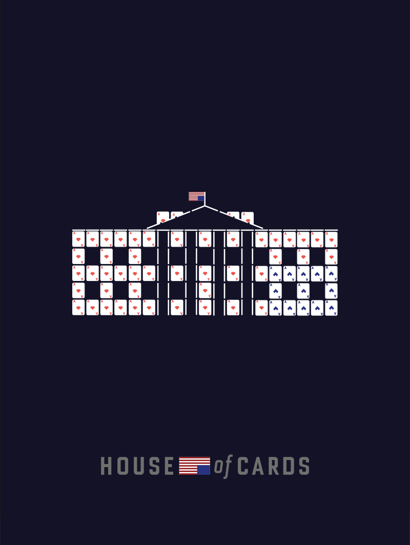 Illustration Minimalist Poster House Of Cards Themes In 2019