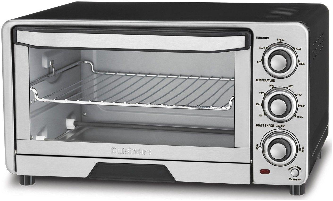 Cuisinart Toaster Oven Broiler Stainless Steel Cuisinart