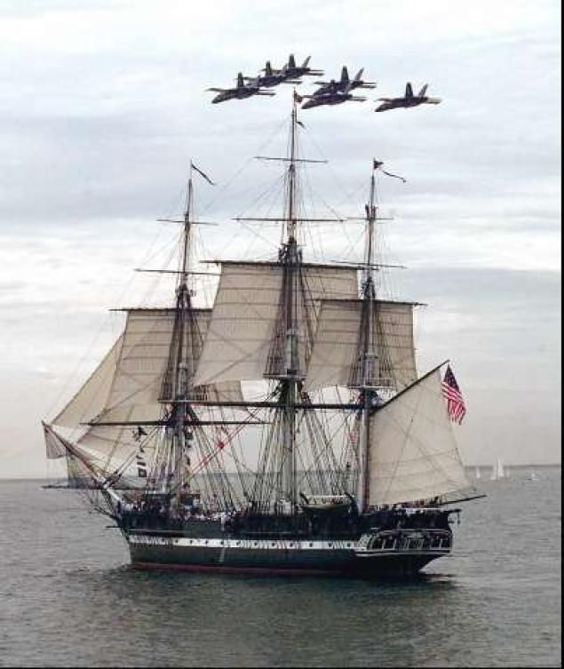 USS Constitution Ship That Fought In War Of To Sail Again - Boston tall ship cruise