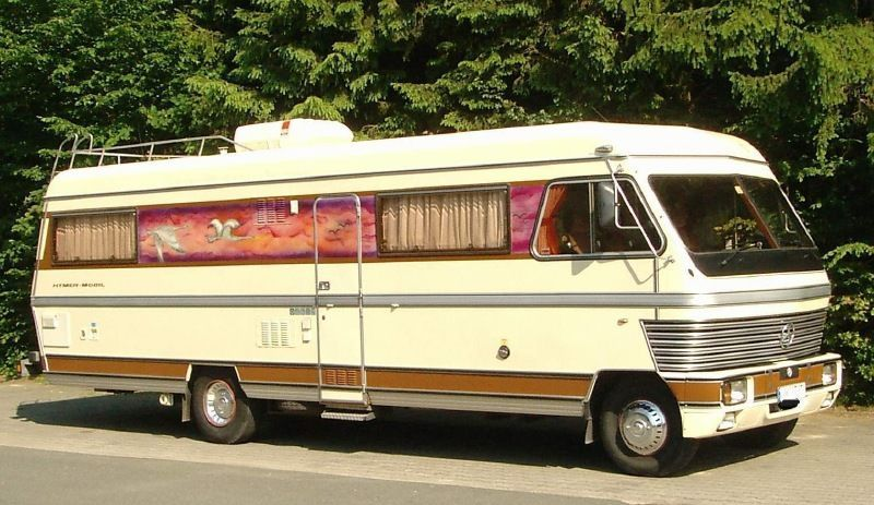 Hymer S900 wow! Vintage motorhome, Classic campers
