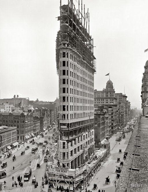 The Tallest Building In The World 110 Years Ago New York