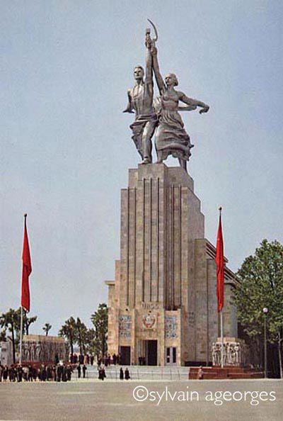Urss 1937 Exposition Internationale Exposition Internationale Exposition Universelle Exposition