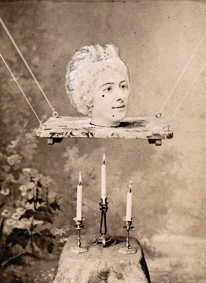 Jeanne d'Alcy in La source enchantée (c.1890s, dir