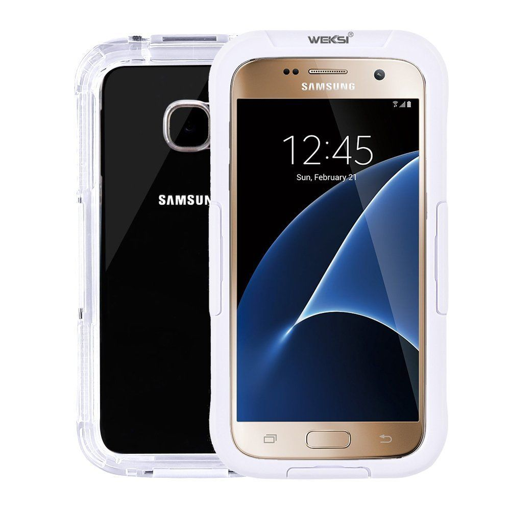 Amazon com: Waterproof Case for Galaxy S7, WEKSI Water Resistant