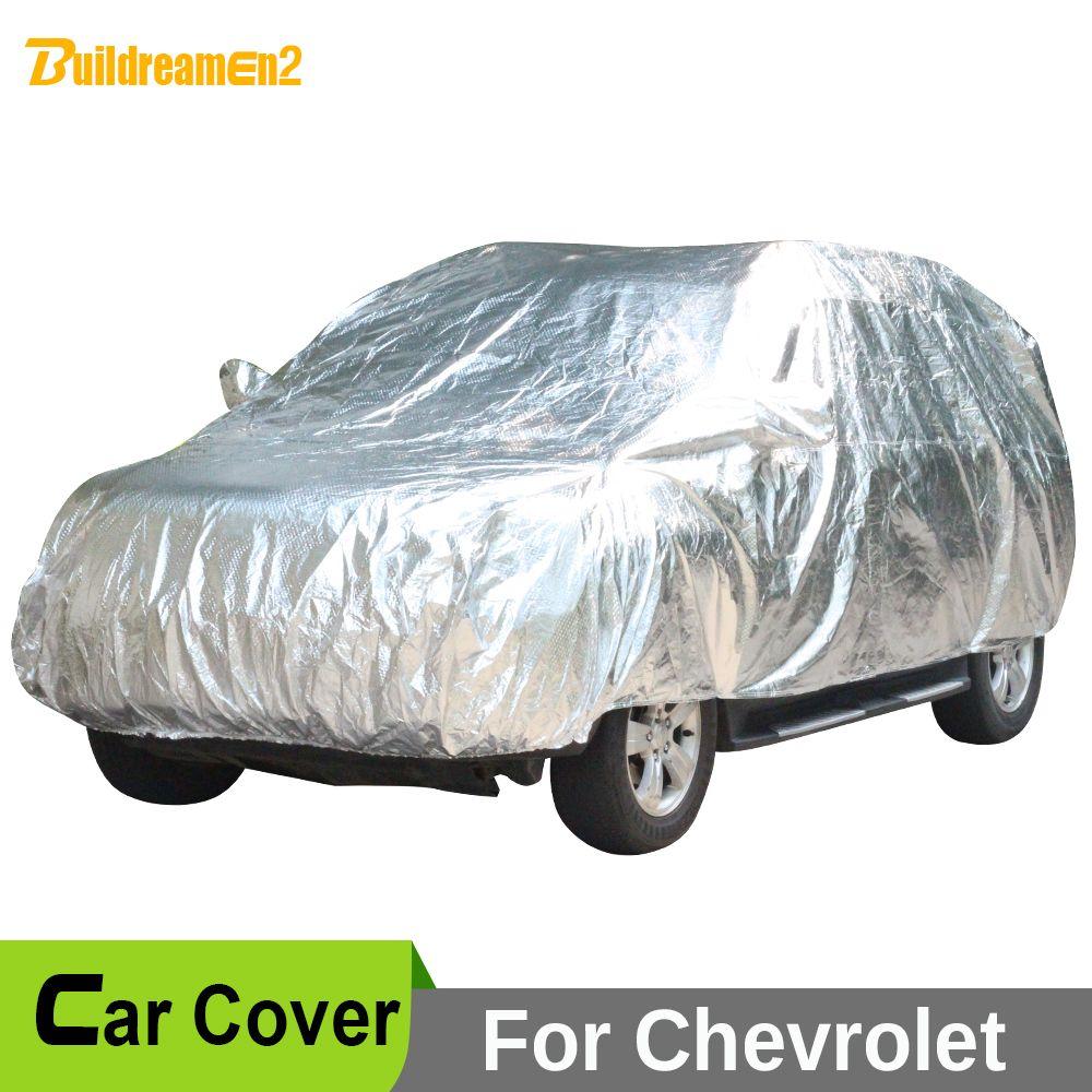 Buildreamen2 Full Car Cover Anti UV Sun Shade Snow Rain