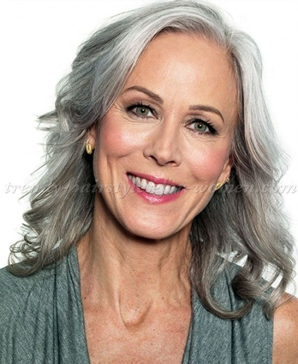 Long Grey Hairstyles Entrancing Stunning Long Gray Hairstyles Ideas For Women Over 50 45  Grey
