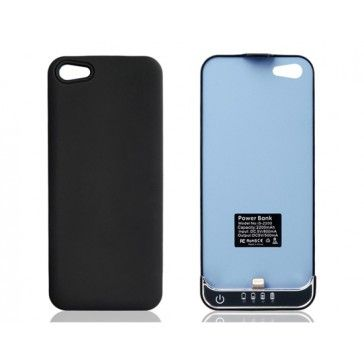 Slim Blue 2200 mAh Battery Pack for iPhone 5