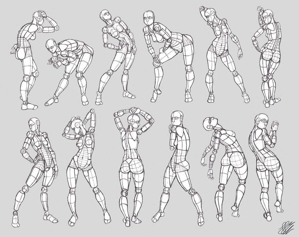 Mannequinization - Female figures 3 by WonderingMind23.deviantart ...