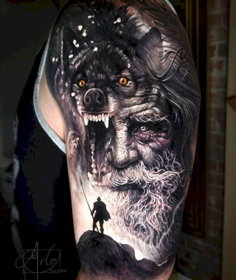 33 Unique 3d Tattoo Inspiration With Images Nordic Tattoo