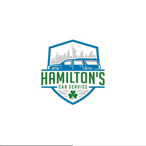 Hamilton S Car Service Create A Logo For A Family Owned Limo Car Service We Are A Car Service Serving Nj And Ny Travel Logo New York City Travel City Trip