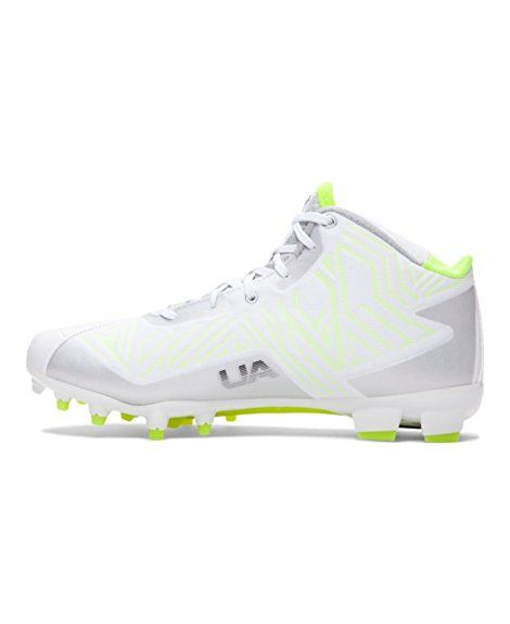50fc57bebb57 Amazon.com | Men's Under Armour Banshee Mid MC Lacrosse Cleat | Field  Hockey & Lacrosse