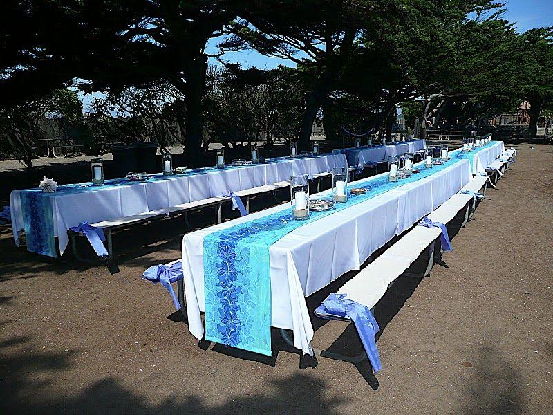 Elegant Picnic Wedding Reception Table Ideas My First Wedding