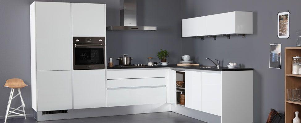 Verrassend Pallas greeploos, een van de Trendy keukens, L-opstelling van MK-98