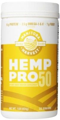 Manitoba Harvest Hemp Pro 50 Protein Supplement, 16 Ounce - For Sale