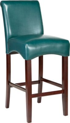 Peachy Watercolor Blue Barstool The Home Bar Stools Counter Gmtry Best Dining Table And Chair Ideas Images Gmtryco