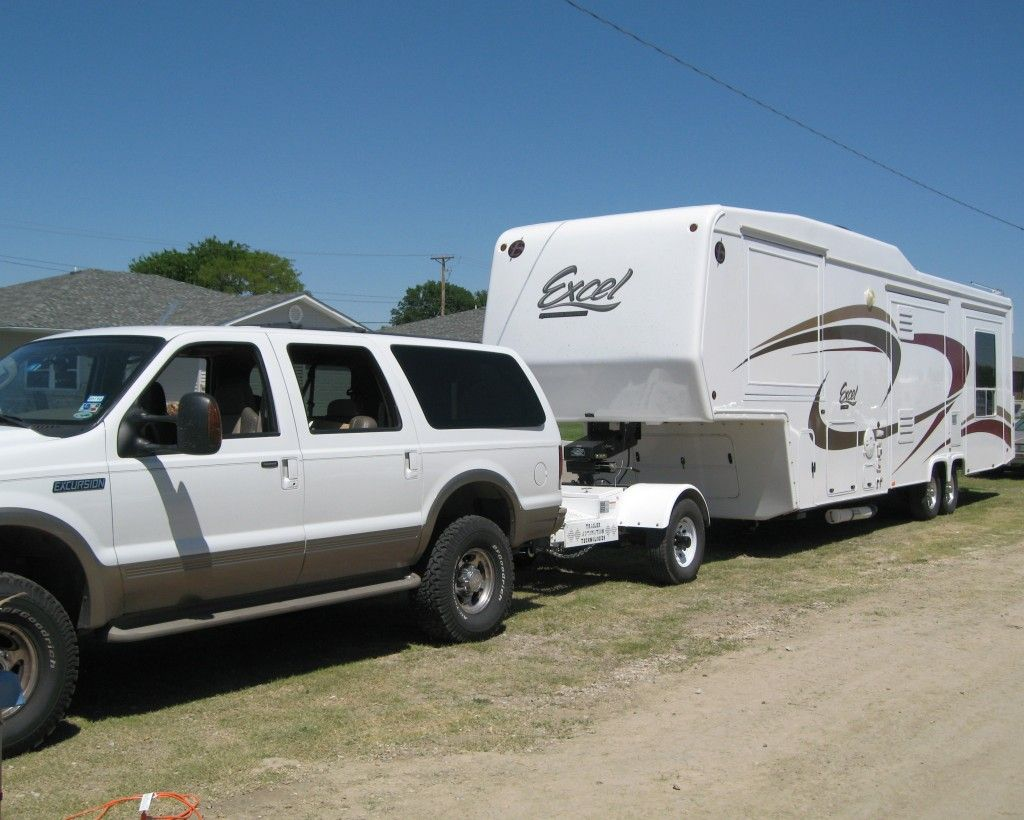 Gallery Ford Excursion Fifth Wheel Trailers Towing Vehicle