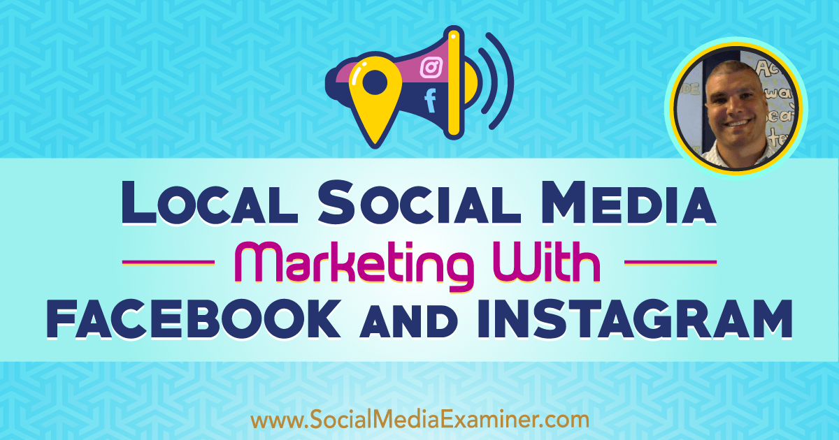 Local Social Media Marketing With Facebook and Instagram http://www.socialmediaexaminer.com/local-social-media-marketing-with-facebook-and-instagram-bruce-irving?utm_source=rss&utm_medium=Friendly Connect&utm_campaign=RSS @smexaminer