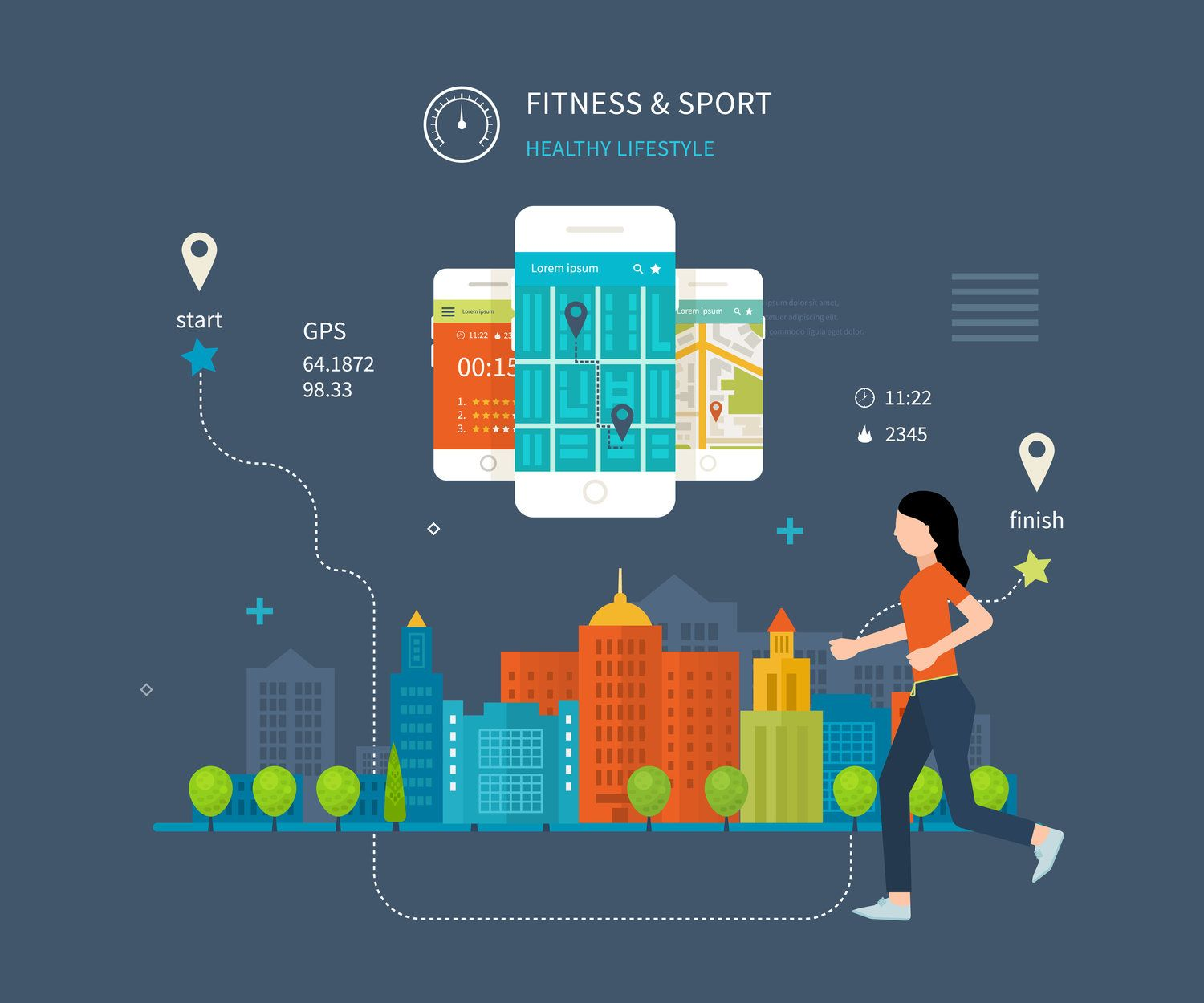 Modern fitness enthusiasts rely on apps to help them work