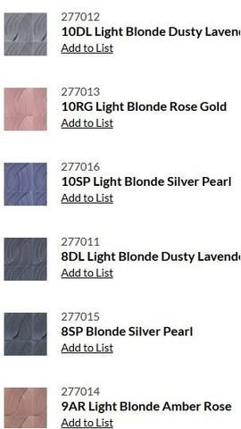 White Hair With Kenra Silver Metallic 10sm Google Search