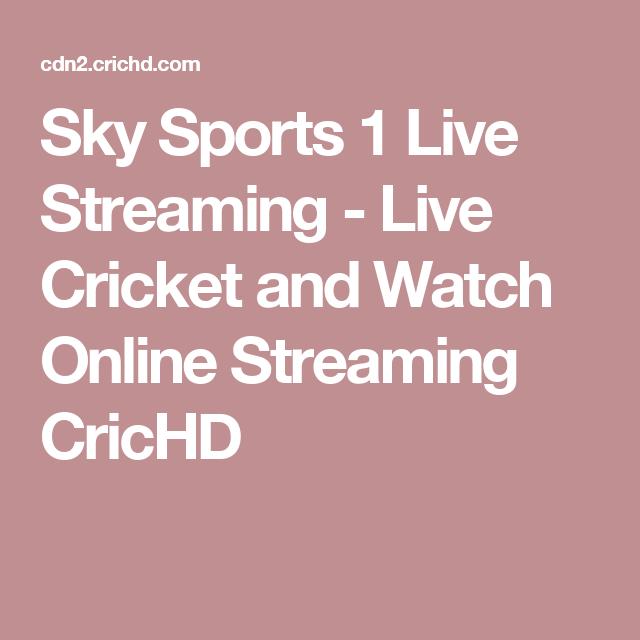 Sky Sports 1 Live Stream