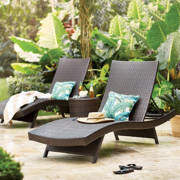 die besten 25 patio chaise lounge ideen auf pinterest liegest hle f r drau en liege st hle. Black Bedroom Furniture Sets. Home Design Ideas