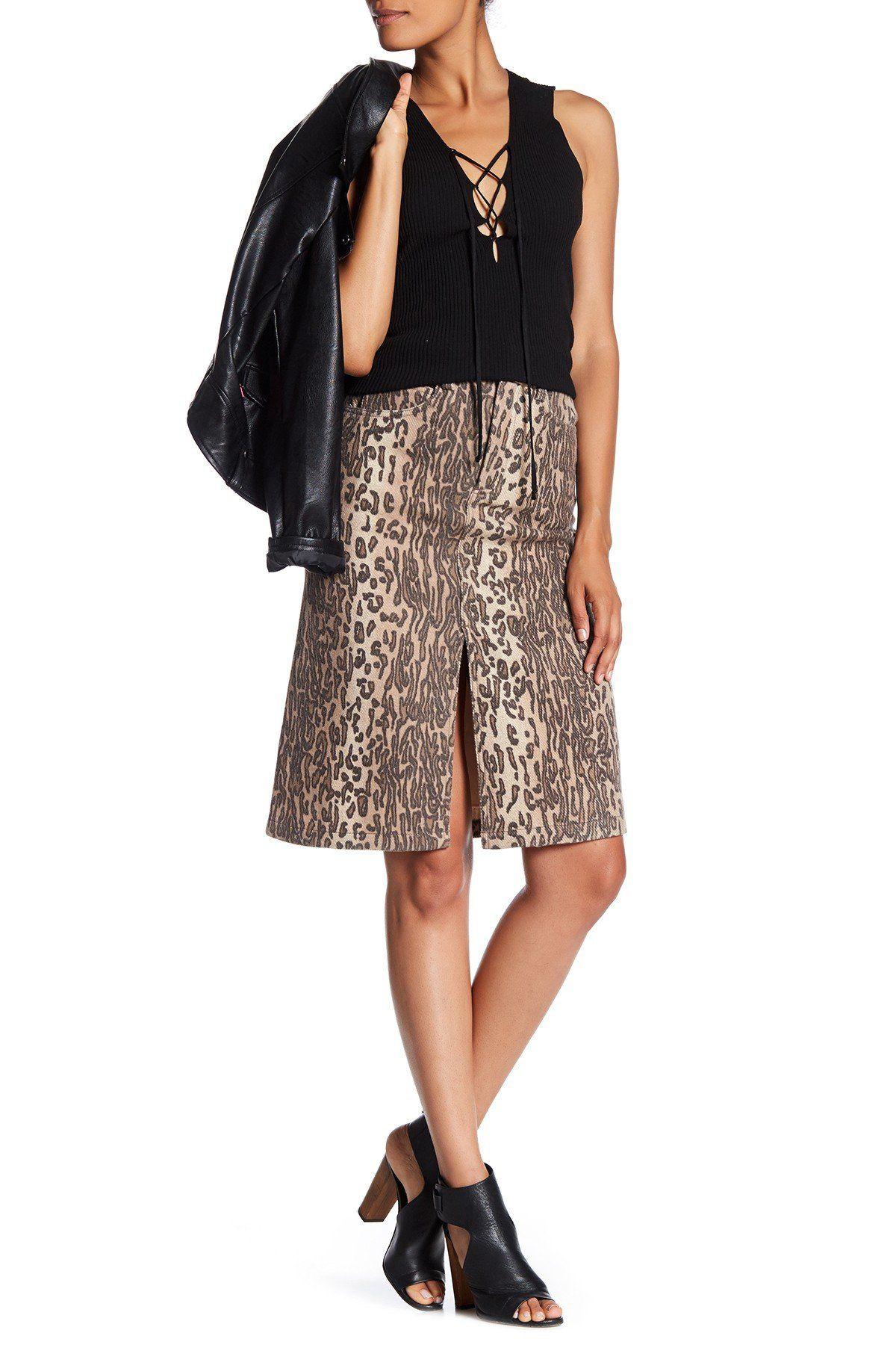 6ce6de450c14 Lynx Wool Blend Midi Skirt Classic Style