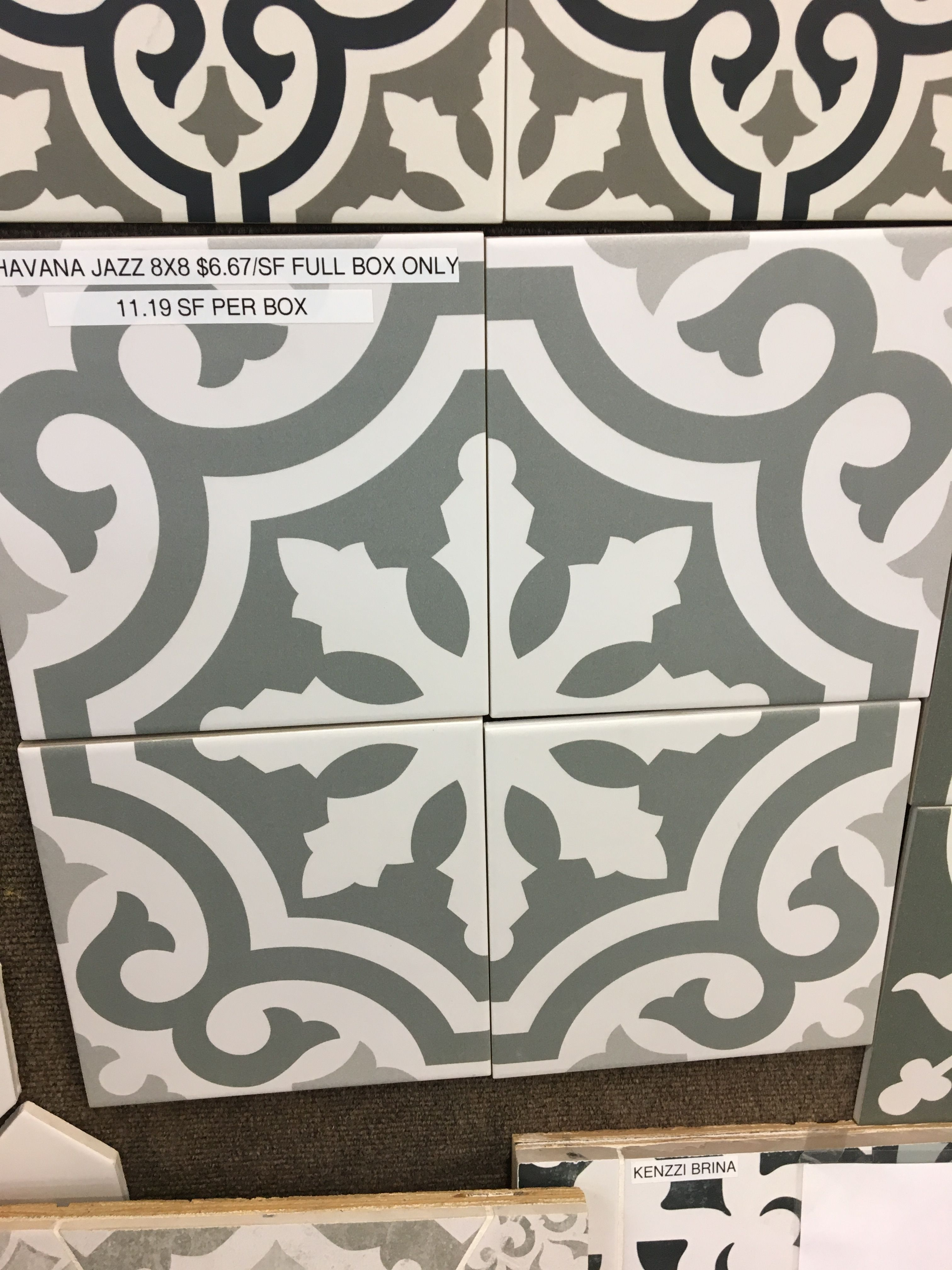 Havana Jazz Porcelain 8x8 Tile Outlet In Seattle Tiles Decor Home Decor