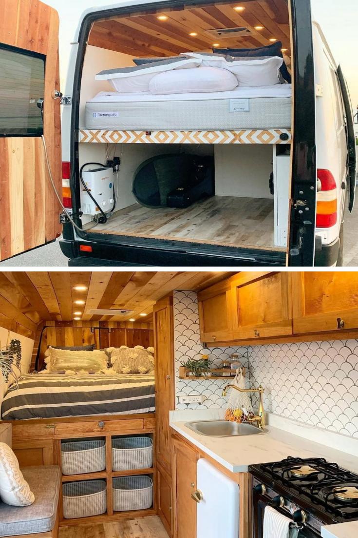 45+ Cheap & Beautiful Ideas For Your Camper van Project #futuretravel