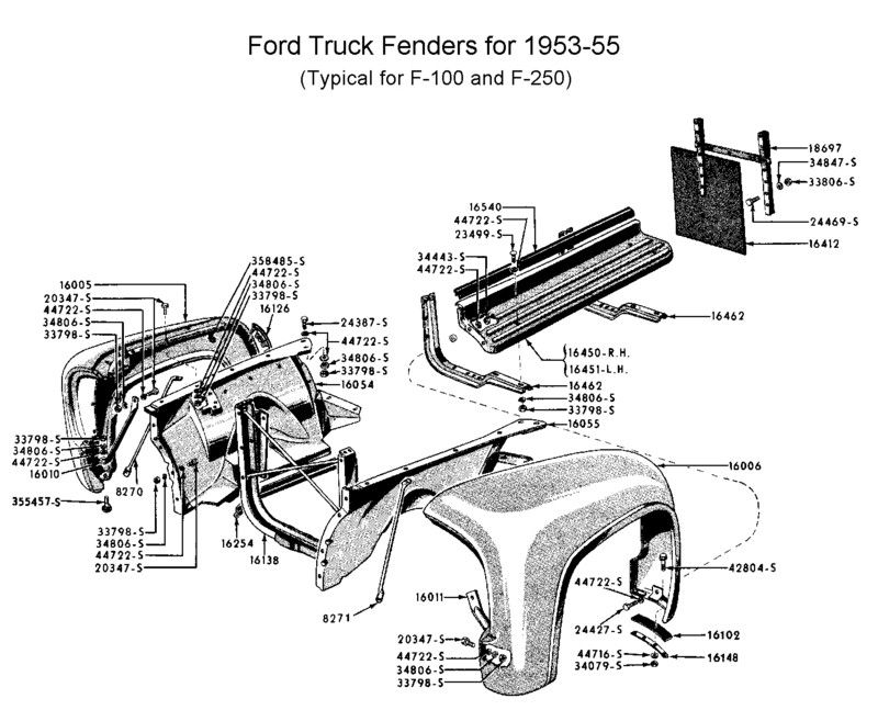 1952 Ford F1 Wiring Diagram - Free Download Wiring Diagram