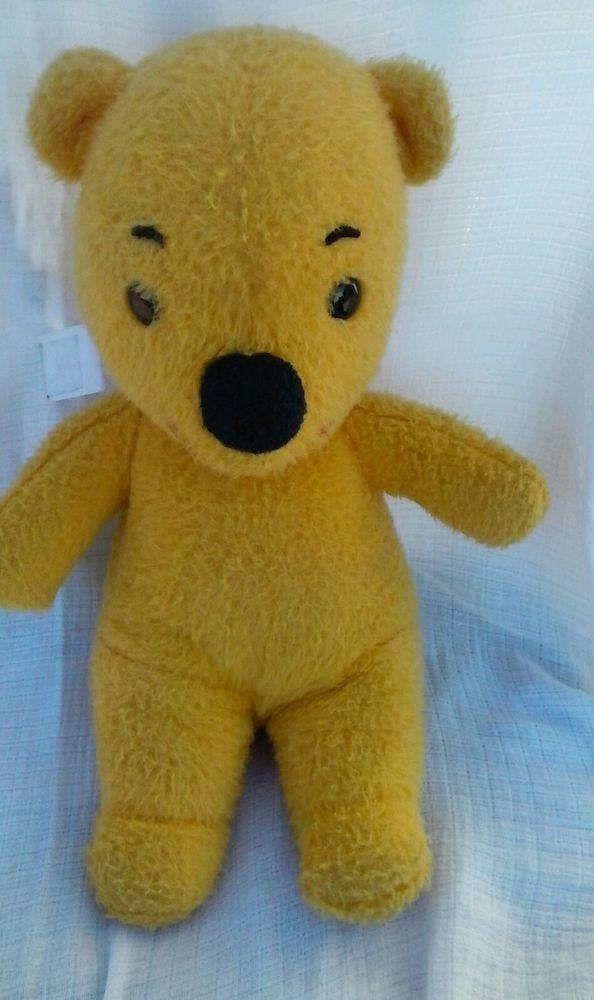 Vintage 1970 S Sears Gund Disney Winnie The Pooh Plush Stuffed Animal 16 Tall Winnie The Pooh Plush Plush Stuffed Animals Antique Teddy Bears