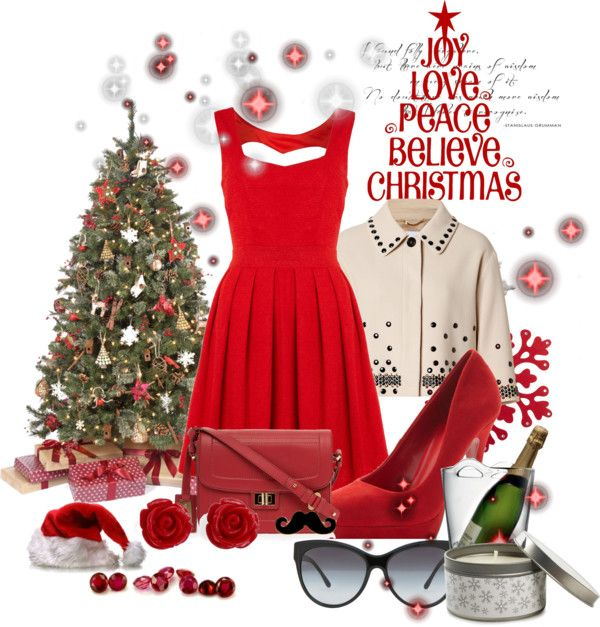 """""""My x'mas outfit"""" by nabilacandrariswanto ❤ liked on Polyvore"""