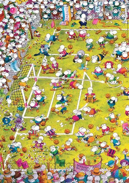 Puzzle Futbol Mordillo ( Ref:  0000029091 )