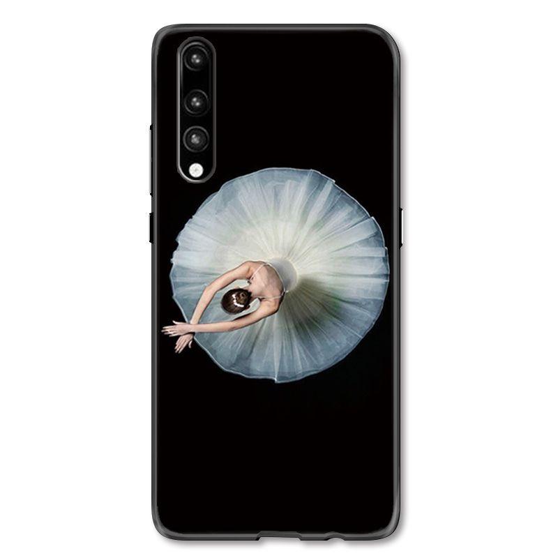 Huawei P20, Huawei P20 Pro Phone Case Ballerina Illustration ...