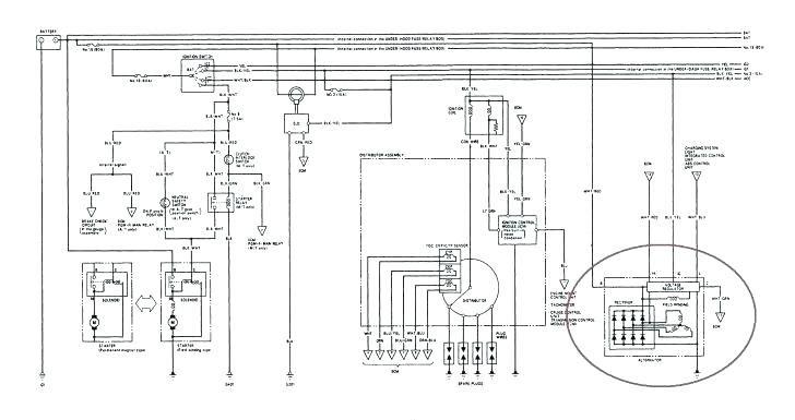 2000 Honda Civic Wiring Harness Diagram