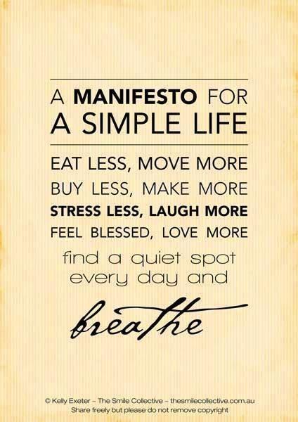 I'm So Vintage: pursuing the simple life..... a manifesto
