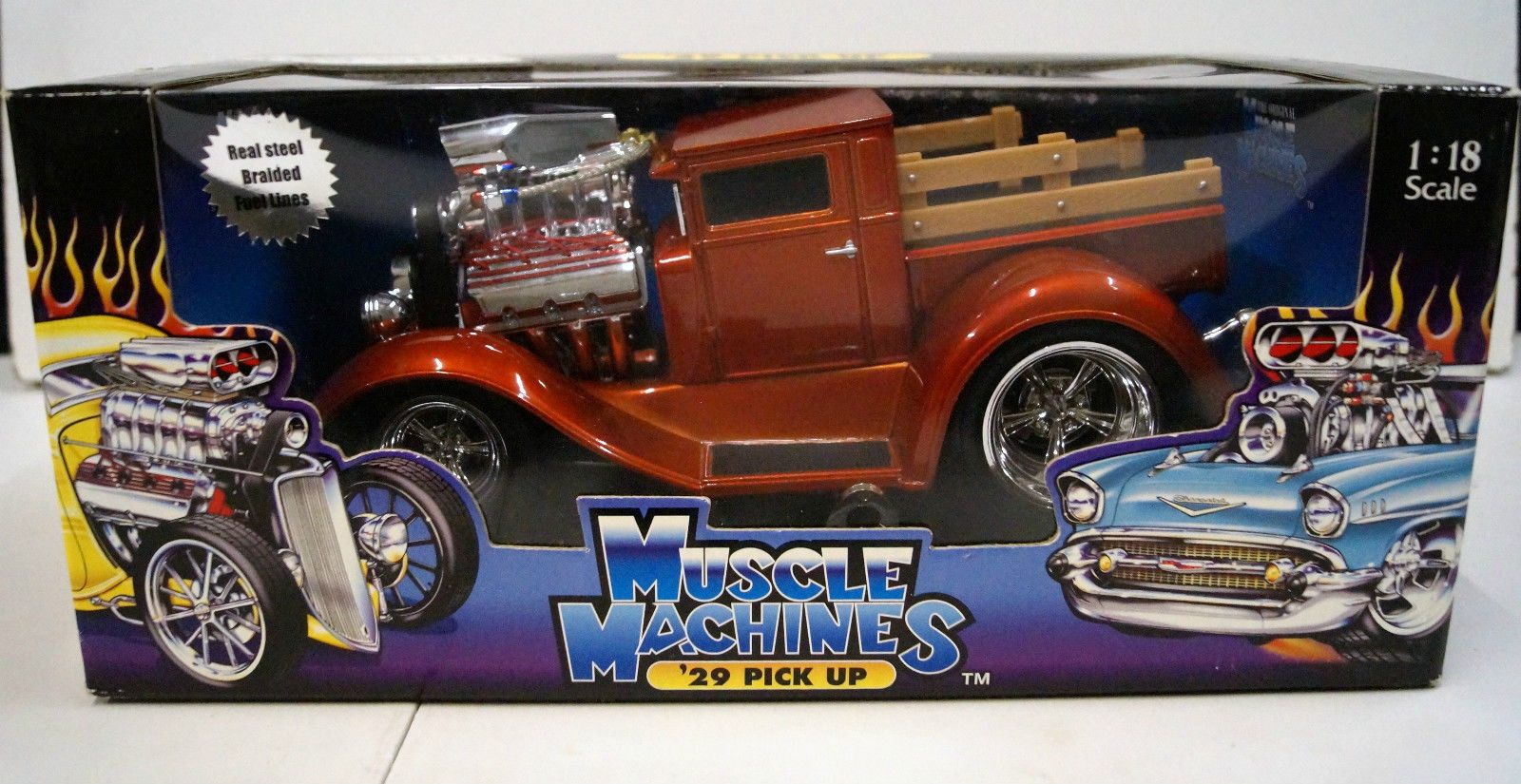 Maisto Muscle Machines! 1:18! 1929 Model A Pickup New Old Stock ...