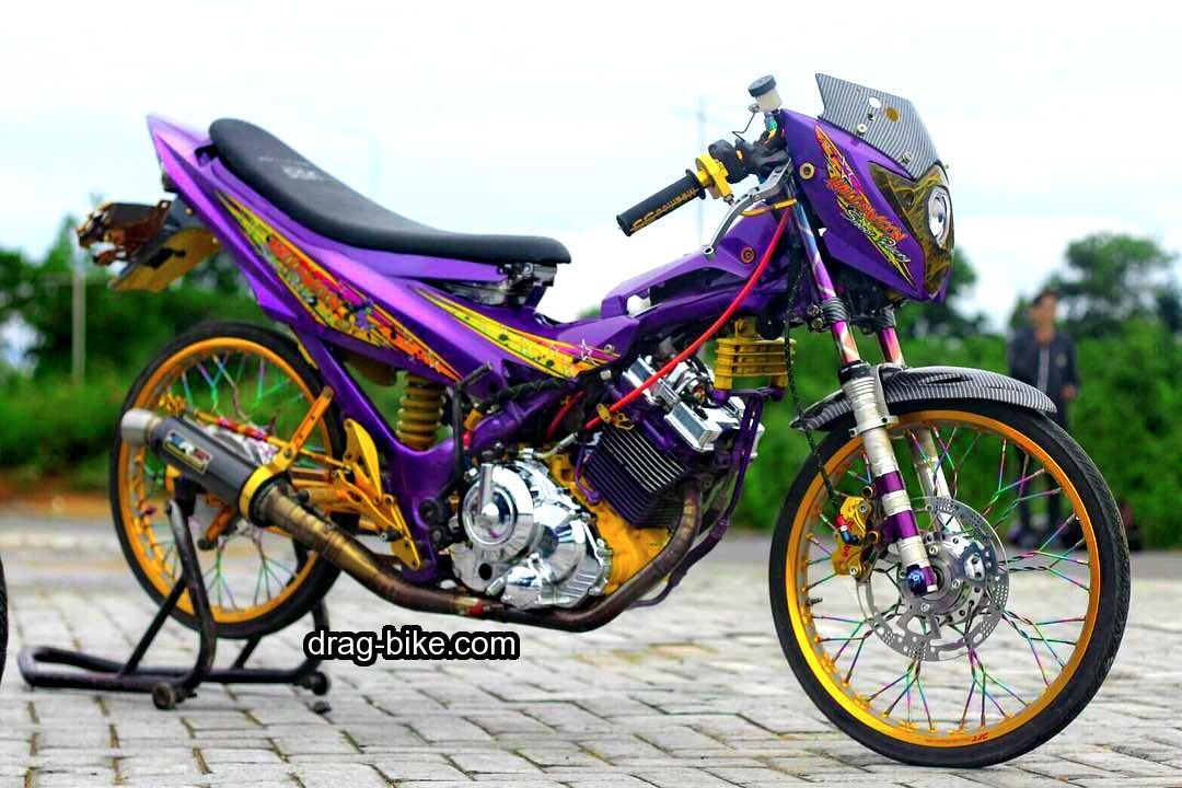 Velg Jari Jari Satria Fu Modif Thailook Gambar Sepeda Motor
